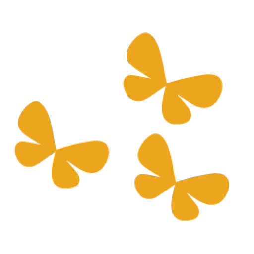 Logo: image of butterflies for EASE Foundation